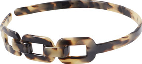 Riviera Chain Link Tortious Head Band