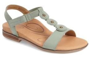 Aetrex Women's 'Sharon' T-Strap Sandal