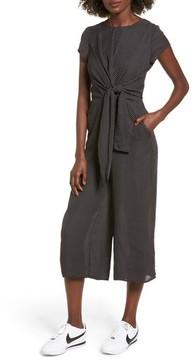 Dee Elly Women's Knotted Wide Leg Jumpsuit