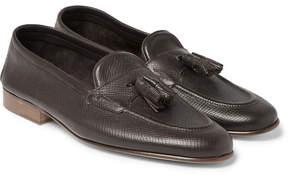 Edward Green Portland Cross-Grain Leather Tasselled Loafers