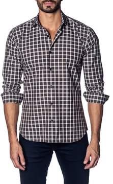 Jared Lang Plaid Slim Fit Shirt