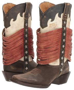 Durango Dream Catcher 12 Wrapped Fringe Cowboy Boots
