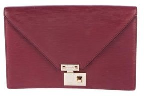 Rebecca Minkoff Leather Paris Clutch - RED - STYLE