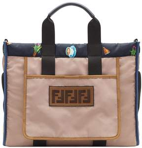Fendi printed shopper bag