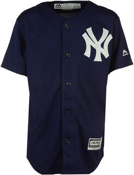 Majestic New York Yankees Blank Replica Jersey, Big Boys (8-20)