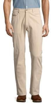 Robert Talbott Solid Five-Pocket Pants