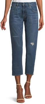 Levi's Crush Taper Straight-Leg Mid-Wash Jeans