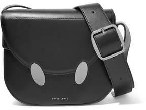 Lente Danse Spei Leather Shoulder Bag - Black
