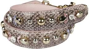 Dolce & Gabbana Embellished Bag Strap - ROSA - STYLE