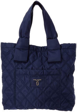 Marc Jacobs Nylon Knot Tote - BLUE - STYLE