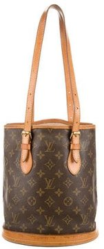 Louis Vuitton Monogram Petit Bucket Tote