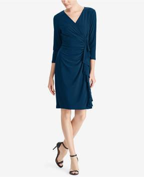 American Living Ruffled Sheath Dress