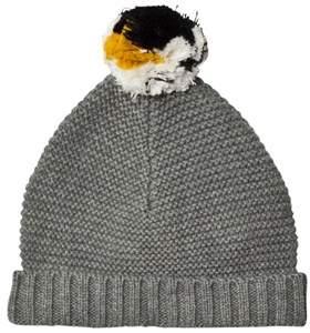 Stella McCartney Penguin Pom Pom Knit Hat