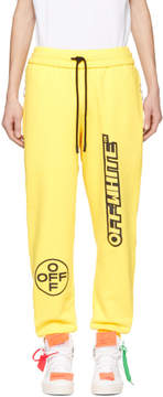 Off-White Yellow Off Lounge Pants