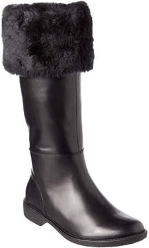 Taryn Rose Avis Waterproof Leather Tall Boot