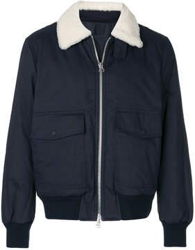Joseph zipped bomber jacket