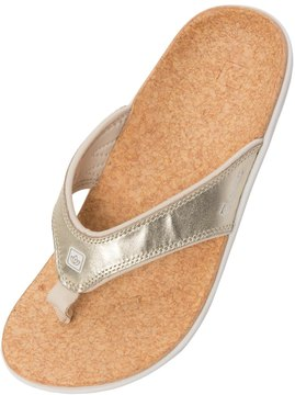 Spenco Women's Yumi Metallic Flip Flop 8128908
