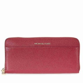 Michael Kors Mercer Leather Wallet - Mulberry - ONE COLOR - STYLE