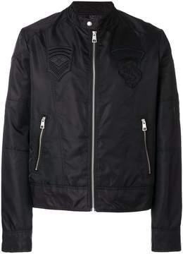 Just Cavalli zipped biker jacket