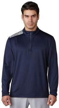 adidas 2017 Men's 3-Stripes Classic 1/4 Zip Long Sleeve Top (Navy - 2XL)