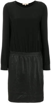 Vanessa Bruno contrast fitted dress
