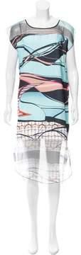 Clover Canyon Printed Midi dress w/ Tags