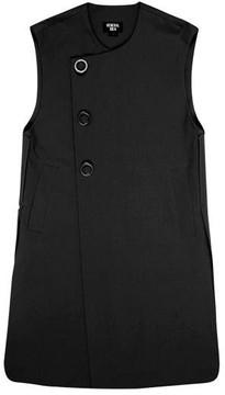 General Idea G7a08001 No Collar Vest Black
