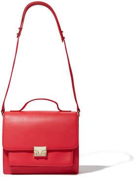 Loeffler Randall Minimal Rider Handbag in Bright Red