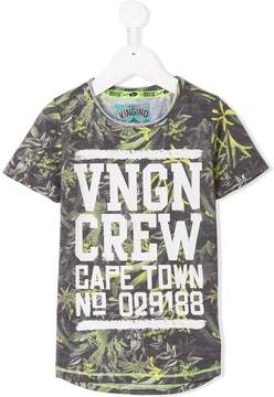 Vingino leaf print T-shirt
