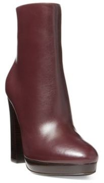 Ralph Lauren Geila Luxe Calfskin Boot Bordeaux 6.5
