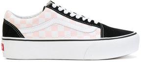 Vans Old Skool check contrast sneakers