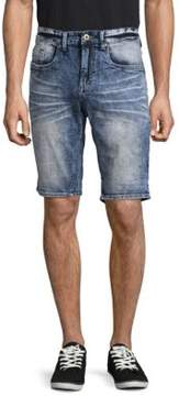 Buffalo David Bitton Whiskering Denim Shorts