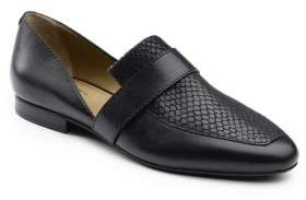 G.H. Bass Hillary Leather D Orsay Slip-Ons
