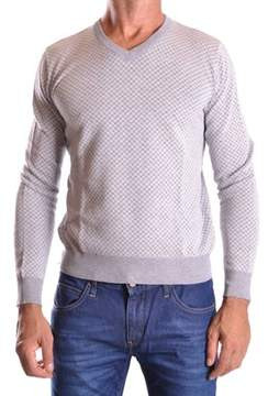 Altea Men's Grey Cotton Sweater.