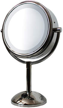 Lighted Round Vanity Mirror by Kingsley (8in Mirror)