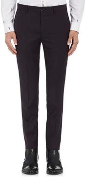 Paul Smith Men's Wool-Mohair Flat-Front Trousers