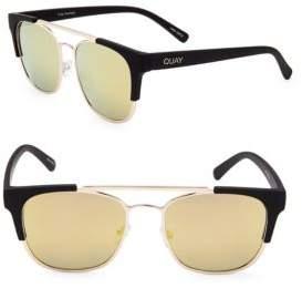 Quay Gradient 50MM Clubmaster Sunglasses