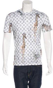 Louis Vuitton 2017 Chapman Brothers Monogram T-Shirt w/ Tags