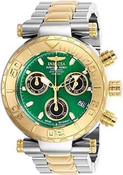 Invicta Men's 'Subaqua' Quartz Stainless Steel Casual Watch, Color:Two Tone (Model: 25804)
