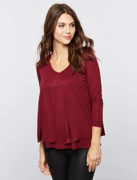 A Pea in the Pod Lift Up Tiered Nursing Top