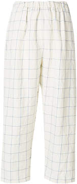 Forte Forte checked cropped pants