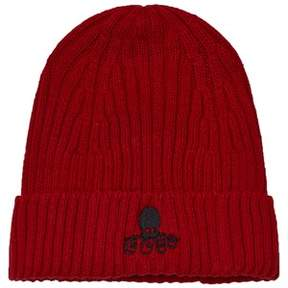 Bobo Choses Red Knitted Cousteau Beanie