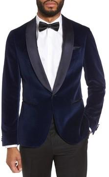 HUGO BOSS Men's Boss Nemir Classic Fit Velvet Dinner Jacket