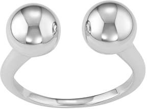 Ball Sterling Silver Open Ring