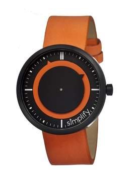 Simplify The 700 Black IP Stainless Steel Case Unisex Watch