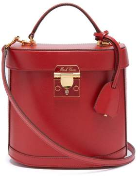 Mark Cross Benchley Saffiano Leather Shoulder Bag - Womens - Red
