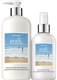 Philosophy Pure Grace Summer Surf Hair & Body Set