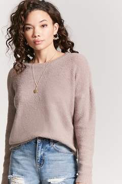 Forever 21 Cutout Sweater-Knit Top
