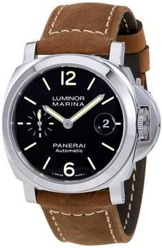 Panerai Luminor Marina Automatic Black Dial Men's Watch