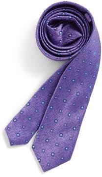 Michael Kors Neat Medallion Silk Tie